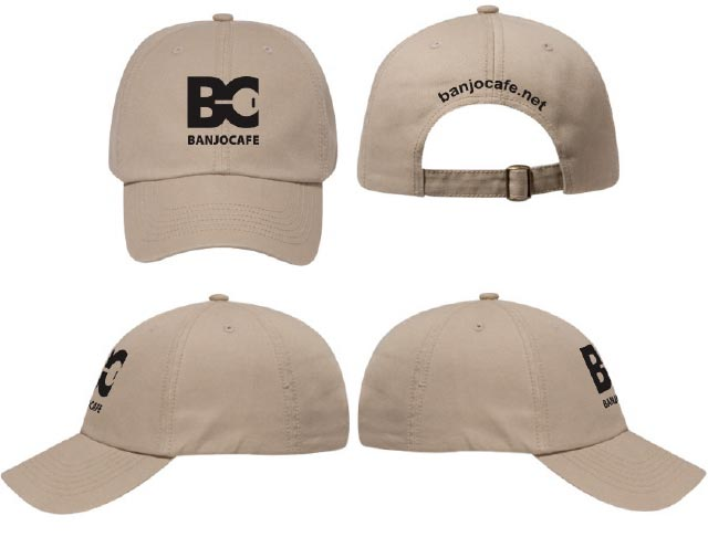 Banjo Cafe Ball Caps