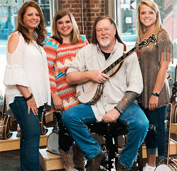 Barry Waldrep and family