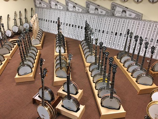 Banjo.com showroom