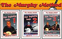 Murphy Method Releases Updated And Improved Beginning Banjo DVDs, Newly Recorded in HD