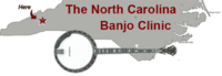 North Carolina Banjo Clinic - November 8-10, 2018