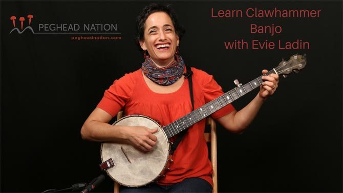Evie Laden Banjo Lessons at Peghead Nation
