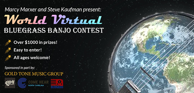 Gold Tone Virtual Bluegrass Banjo Contest Seeks World's Most Talented Player