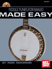 Fiddle Tunes for Banjo Made Easy, published by Mel Bay.