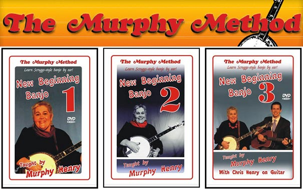 New Beginning Banjo Lessons from The Murphy Method