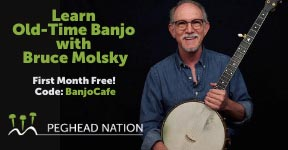 Wade Ward Style Banjo Lessons with Bruce Molsky from Artistworks