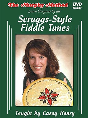 New from Murphy Method - Scruggs-Style Fiddle Tunes by Casey Henry